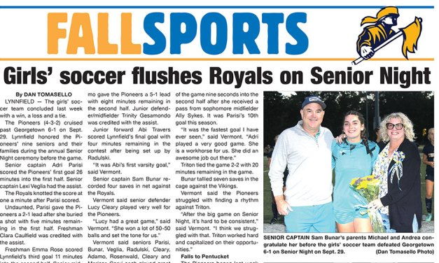 Sports Page: October 6, 2021