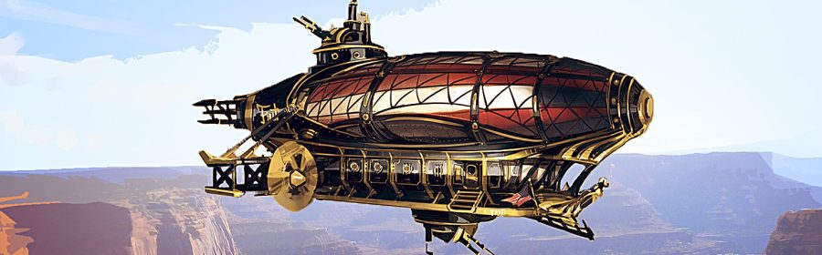 steampunk, fantasy, science fiction, western, airship, ian thomas healy, anthology