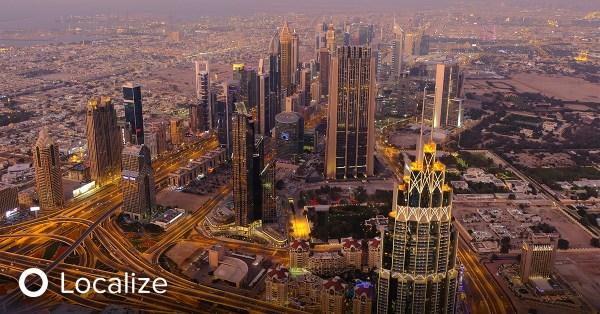 Localization in the UAE