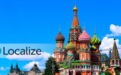 Localizing for Russia