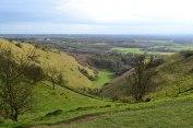 Devil's Kneading Trough, North Downs, Wye, Kent