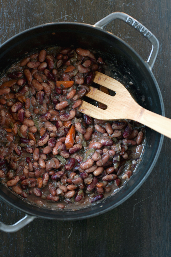 Jacob S Cattle Beans With Bacon Amp Sage