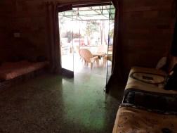 Hall opens to the verandah