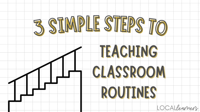 teaching classroom routines