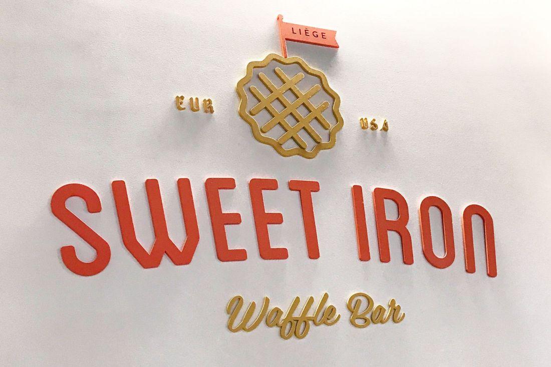Restaurant logo for Sweet Iron Waffles