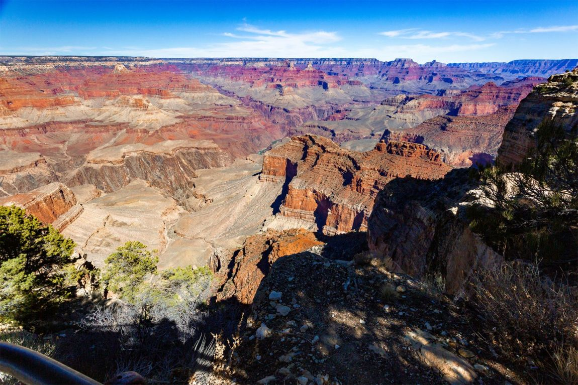 Hopi Point at Grand Canyon South Rim