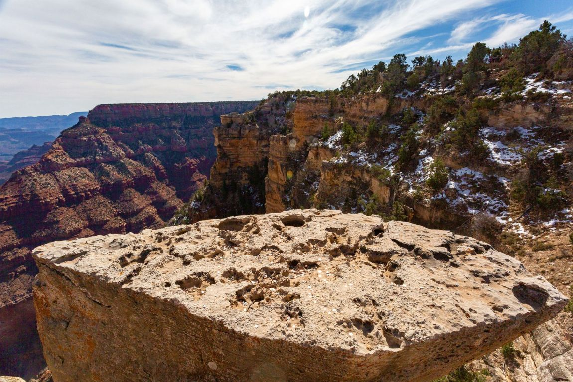 Mather Point at Grand Canyon South Rim