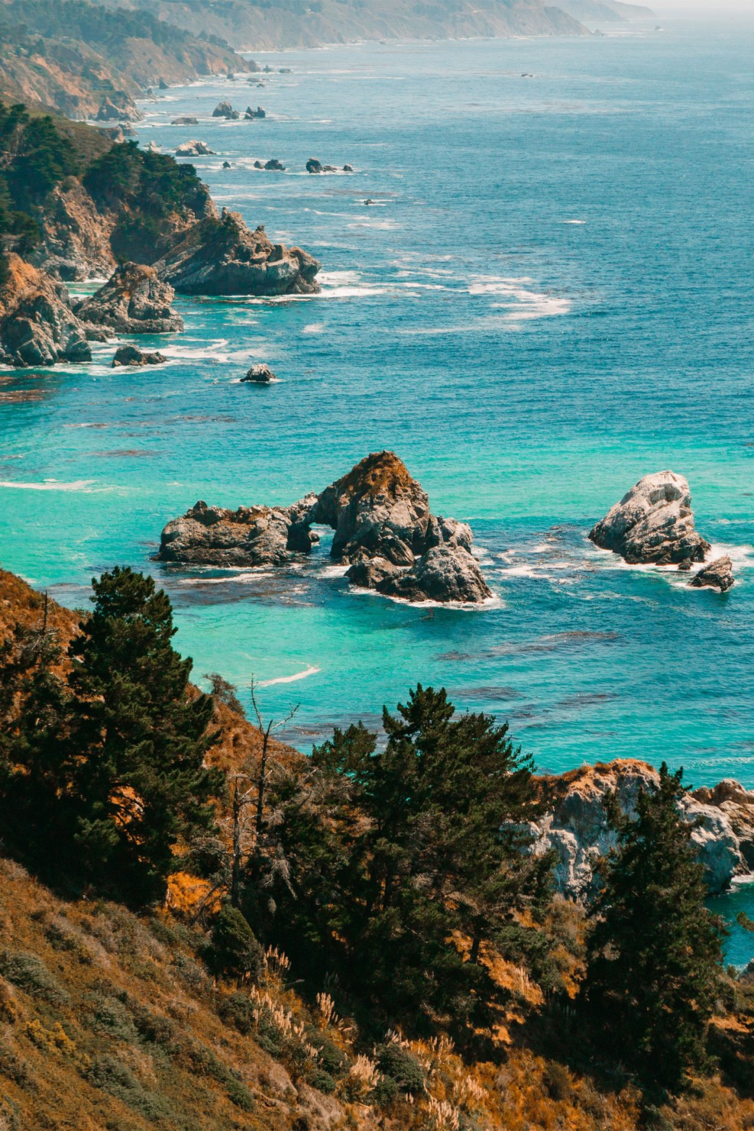 Julia Pfeiffer Burns State Park Vista Point​ | as seen on the Local Love and Wanderlust Blog