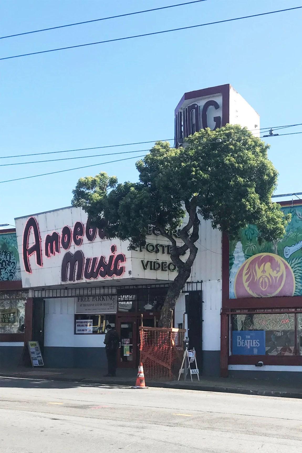 Amoeba Music in the Haight-Ashbury