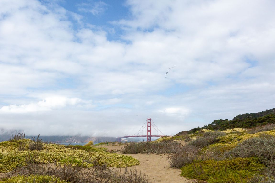 Golden Gate Bridge at Baker Beach in San Francisco, California | Local Love and Wanderlust