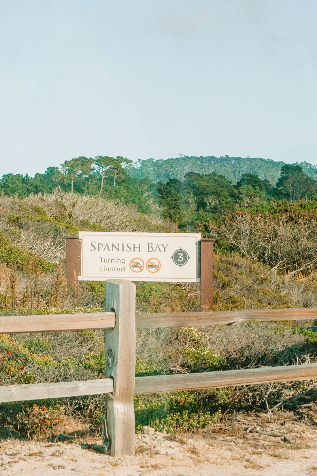 Spanish Bay Beach in 17-Mile Drive Monterey, California