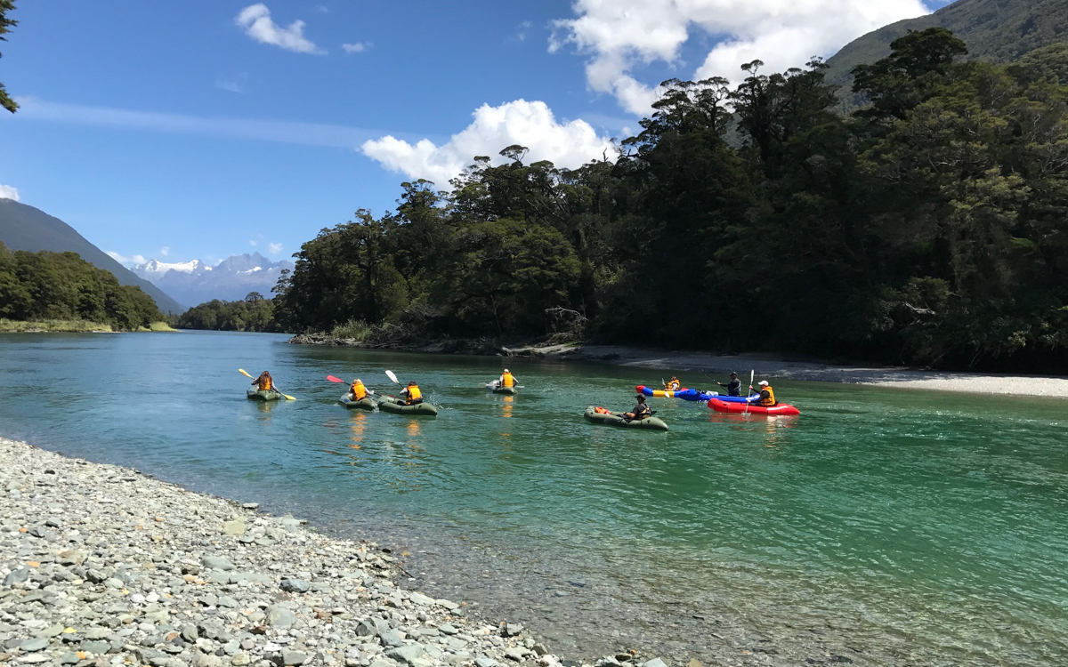 Pack Rafting on remote rivers