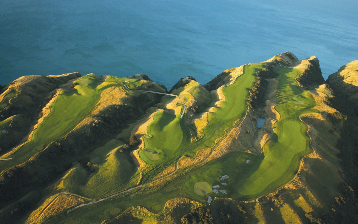Golf at Cape Kidnappers