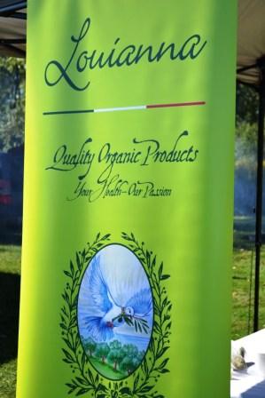 Organic Feast of Fields 2014 - Louianna Estates Olive Oil