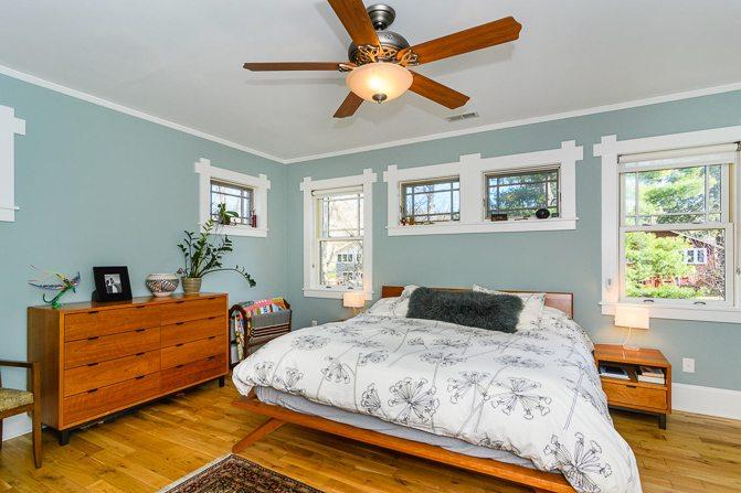 Clean Master Bedroom