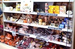 Los quesos y embutidos más típicos de la comarca