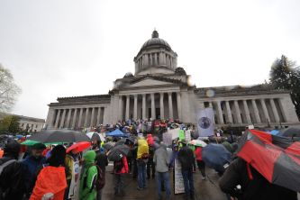 Poor People's campaign at Washington State Capitol
