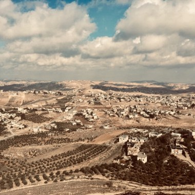 View from Herod's Palace in the West Bank