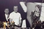 """Madonna dances with HK star Eason Chan on stage, """"kicks"""" his butt - 0"""