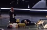 """Madonna dances with HK star Eason Chan on stage, """"kicks"""" his butt - 8"""