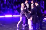 """Madonna dances with HK star Eason Chan on stage, """"kicks"""" his butt - 6"""