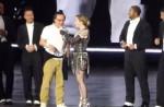 """Madonna dances with HK star Eason Chan on stage, """"kicks"""" his butt - 10"""