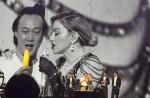 """Madonna dances with HK star Eason Chan on stage, """"kicks"""" his butt - 14"""