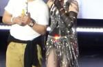 """Madonna dances with HK star Eason Chan on stage, """"kicks"""" his butt - 12"""