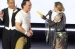 """Madonna dances with HK star Eason Chan on stage, """"kicks"""" his butt - 13"""