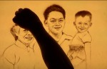 Talented sand artist creates touching SG50 tribute to Mr Lee Kuan Yew - 4