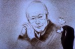 Talented sand artist creates touching SG50 tribute to Mr Lee Kuan Yew - 13