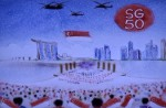 Talented sand artist creates touching SG50 tribute to Mr Lee Kuan Yew - 17