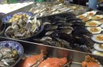 Massive steam-table seafood spread elicits excited exclamations - 47