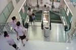 Chinese exercise extreme caution when riding escalators after mishap - 12