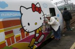 Hello Kitty-themed train unveiled in Taiwan - 7
