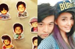 Jay Chou shares photos of his daughter's face... almost - 16