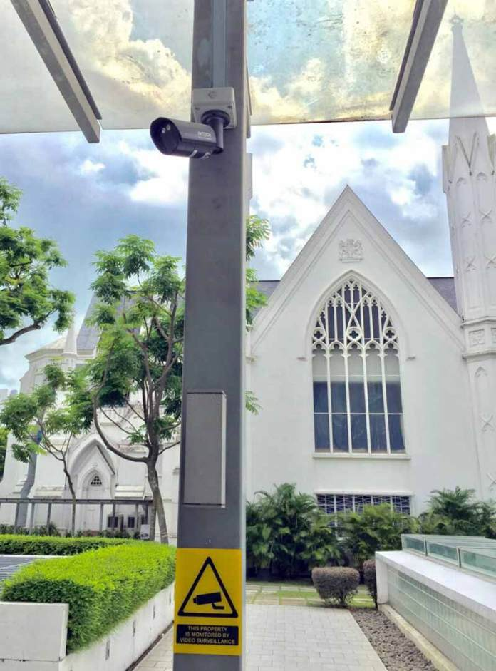 Places Of Worship In Singapore Ramp Up Security Local