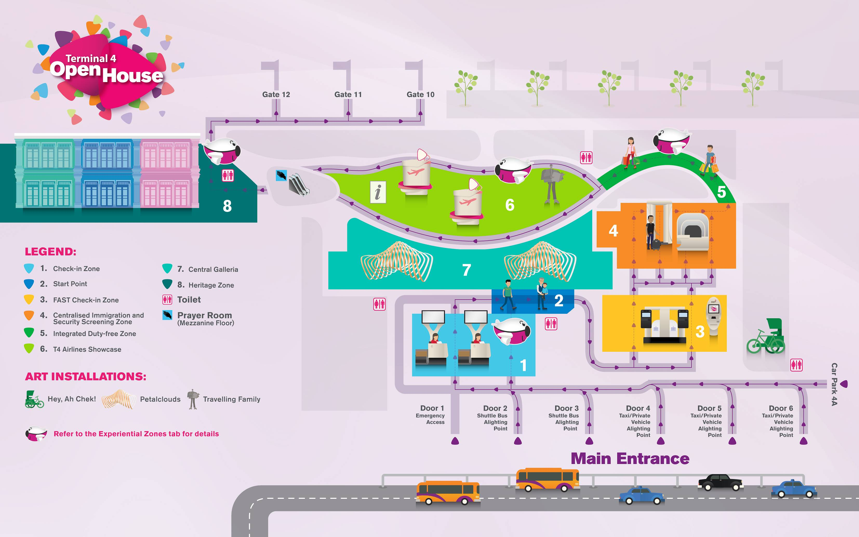 Airport Attractions - Singapore Changi Airport
