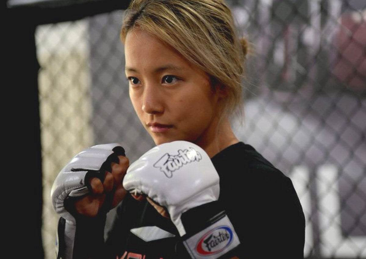 mma fighter dating