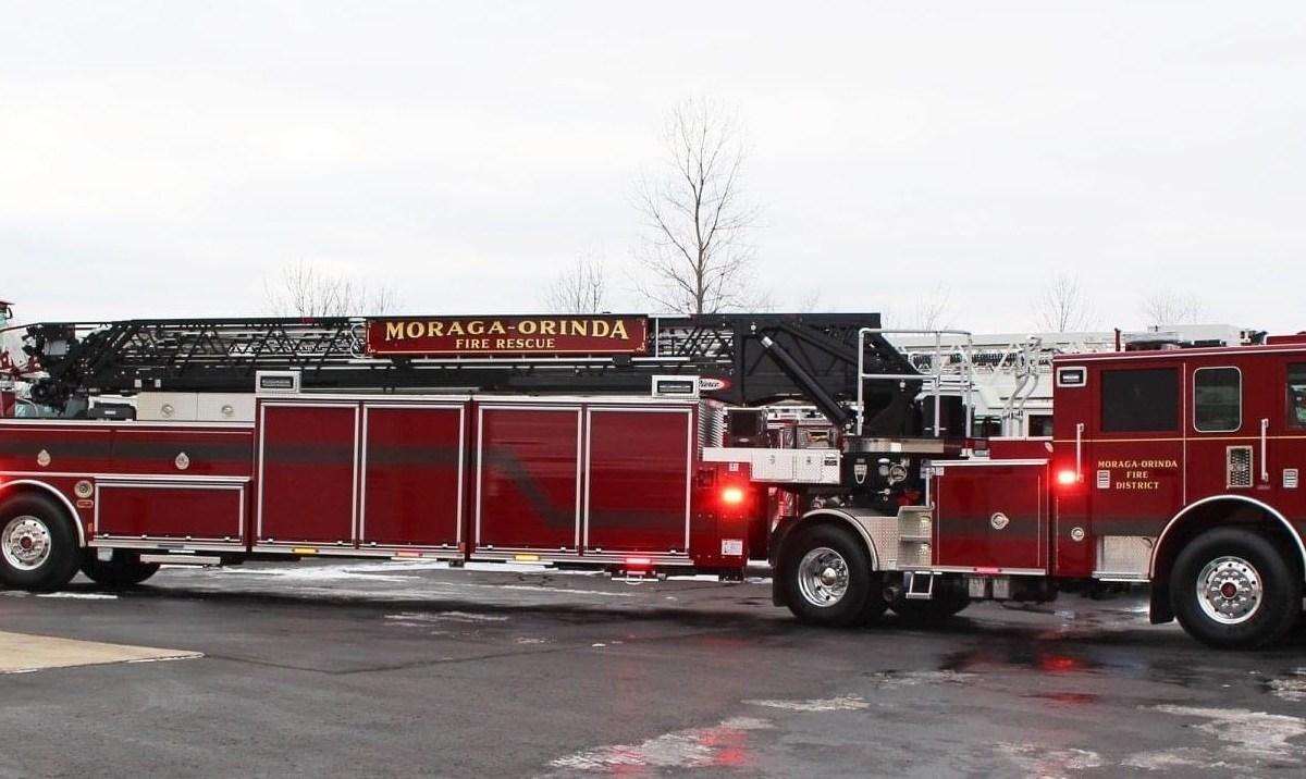 Moraga-Orinda Fire District fire truck