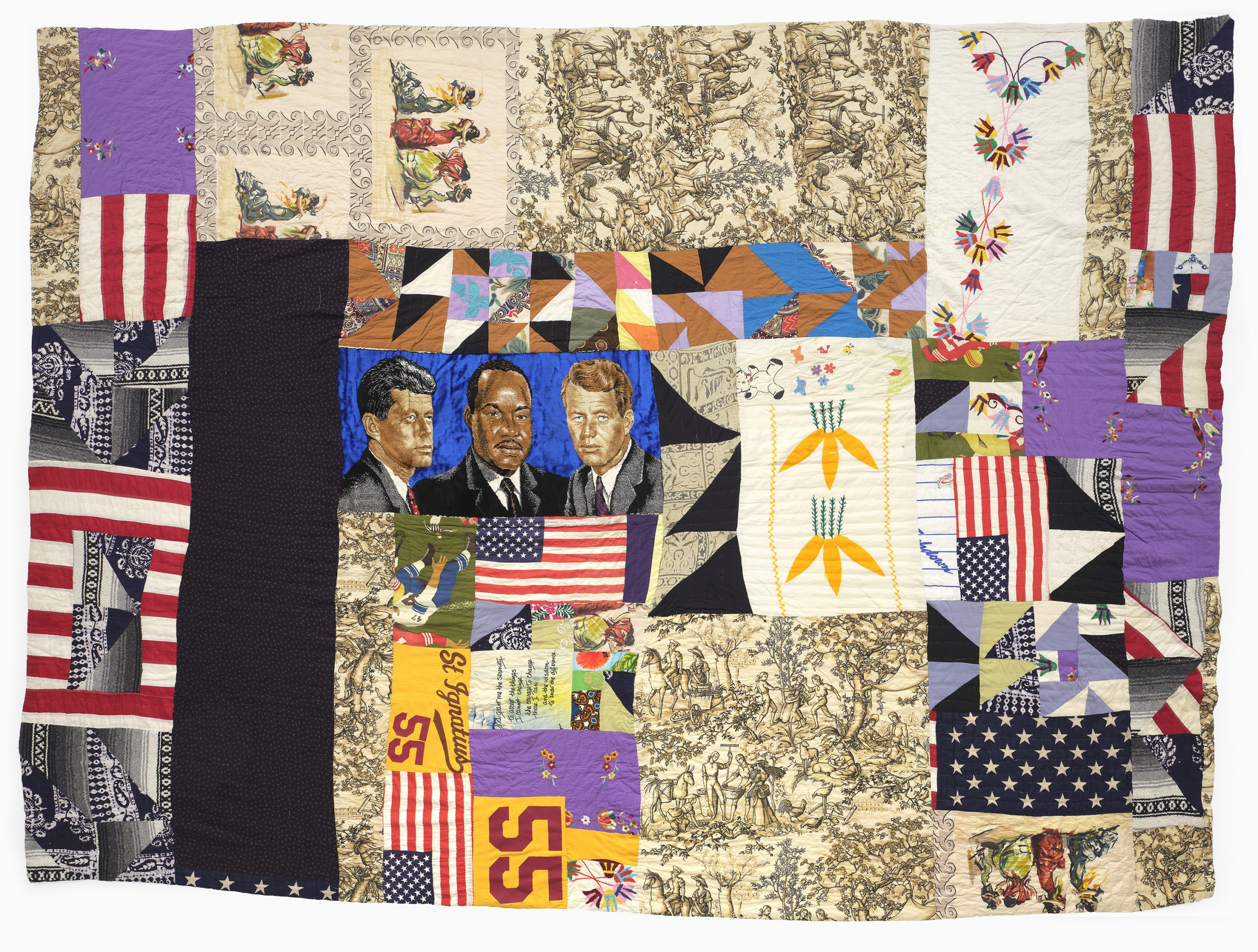 Rosie Lee Tompkins show at BAMPFA lets the brilliance of her African American improvisational quilts shine
