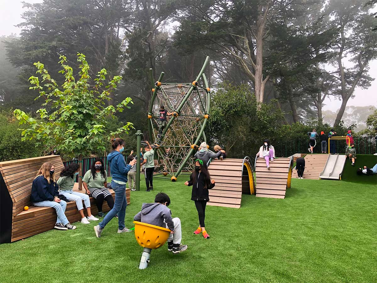 Inspiring creative play for kids is goal of S.F.'s updated Golden Gate Heights Park