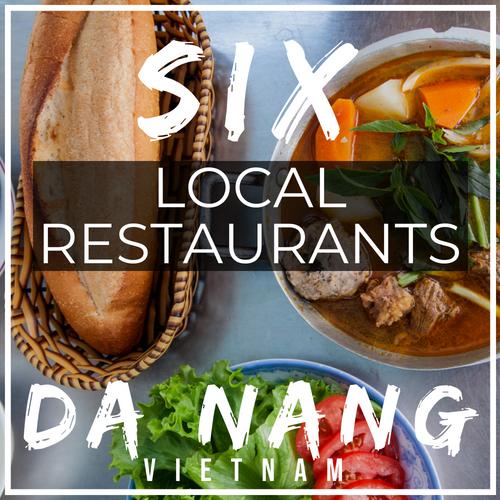 local restaurants da nang vietnam