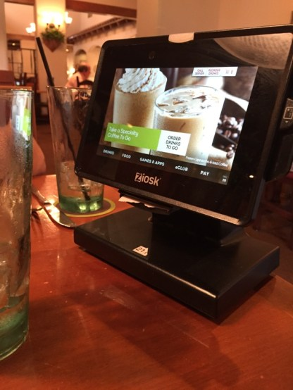 I'm glad I had less face time with my waitress. (C) LocalNOMZ, 2017