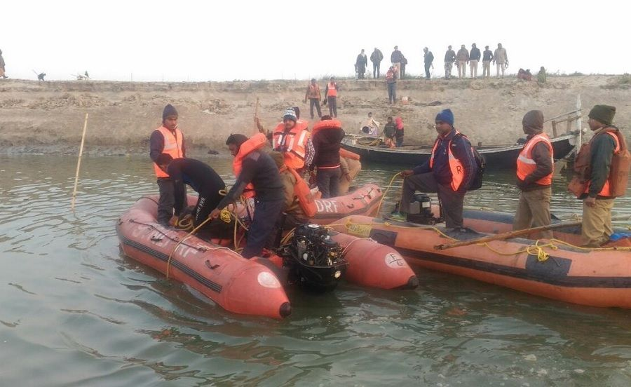 Patna: 17 killed as boat returning from festival capsizes in Ganga river