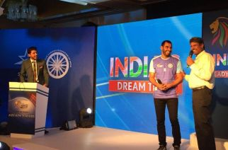 Kapil Dev and Anup Kumar  at the jersey launch. Picture: Star Sports