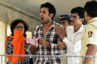 Rahul Raj Singh (center, checked shirt)