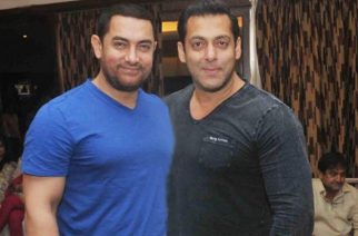 Pictured: Aamir Khan and Salman Khan