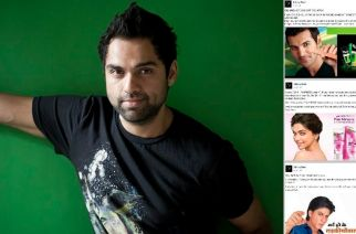 Abhay Deol (inset: his Facebook posts)