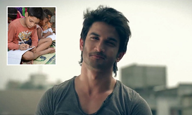 Actor Sushant Singh Rajput to provide free education to underprivileged children